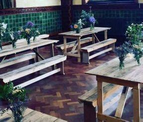 wooden bench hire 6ft standard table 6 wooden rustic chairs 163 51 wooden