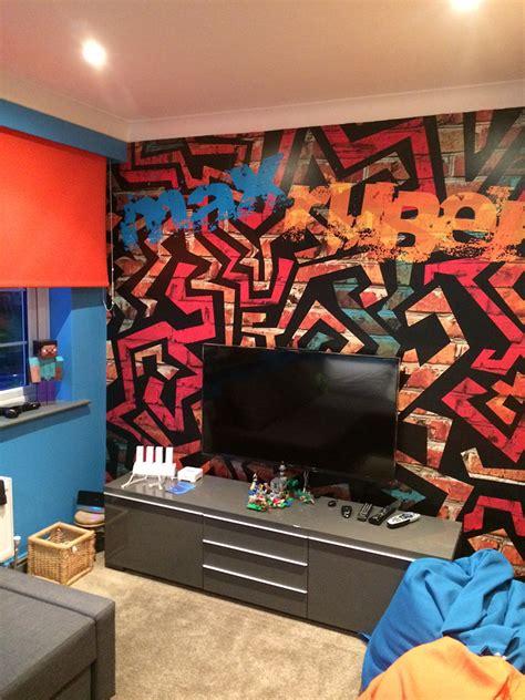 childerns games room graffiti wall northwestbanners