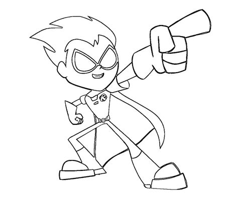 Coloring Page Robin Az Coloring Pages Robin Coloring Pages