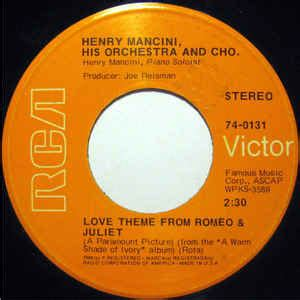 love theme from romeo and juliet radio 1 henry mancini his orchestra and cho love theme from