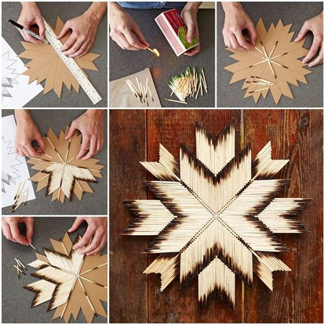 different craft ideas for diy unique crafts of matches