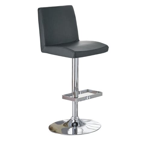 adjustable stool with back coaster contemporary adjustable bar stool with roll back