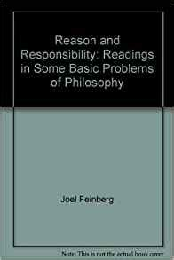 reason and responsibility readings in some basic problems of philosophy reason and responsibility readings in some basic problems