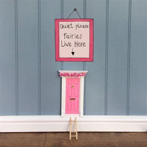 fairy doors for bedroom pink fairy door bedroom gift set by not before tea