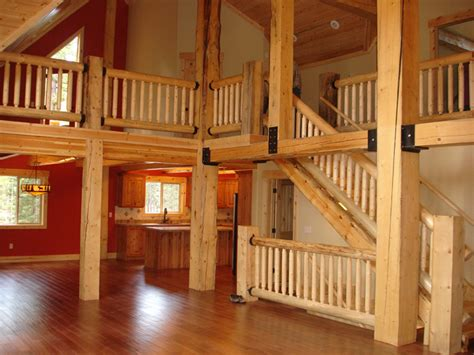 Log Home Interior Photos by Log Cabin Interiors California Log Home Kits And Pre
