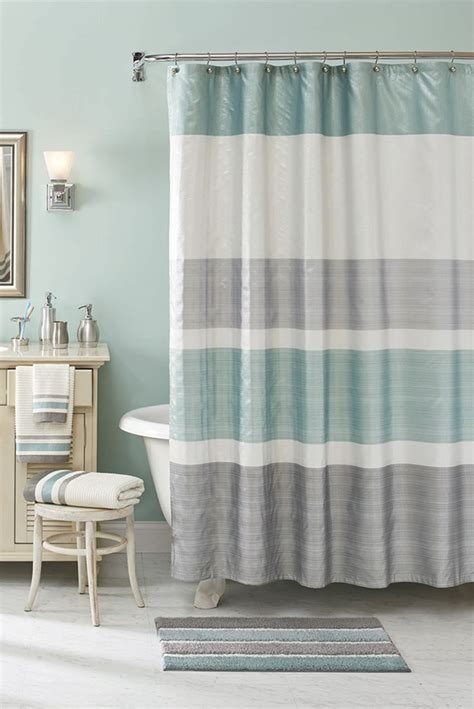 gray and white striped shower curtain grey and white striped shower curtain tags grey and teal