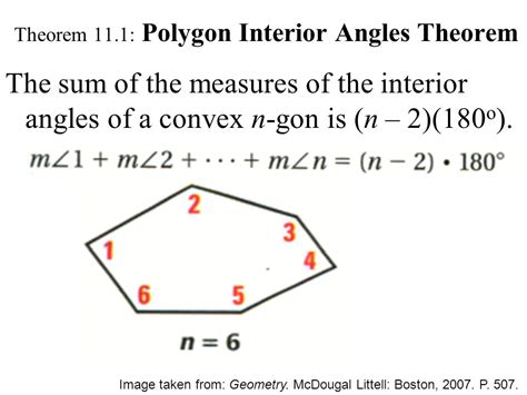 11 1 angle measures in polygons ppt