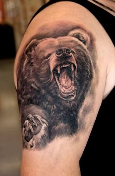 grizzly bear tattoo ideas and grizzly bear tattoo designs
