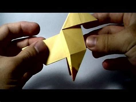 Heavy Origami Tutorial - origami pajarita bird featured on ps3 s heavy