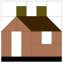 house pattern house quilt block pattern casas de tecido