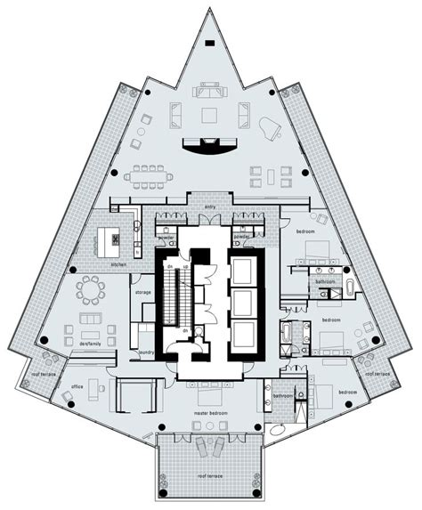 penthouse floor plan 97 best penthouse images on pinterest apartment floor