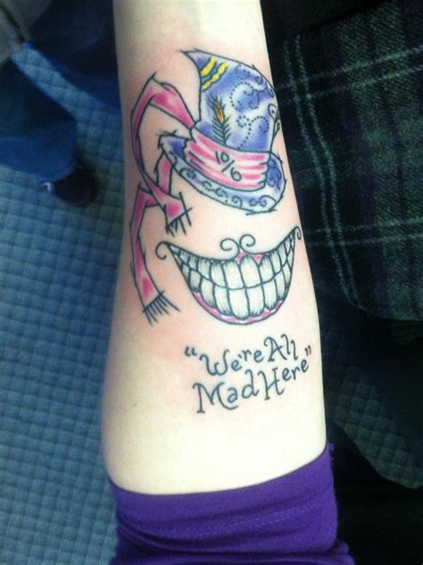 mad hatter tattoo tattoo ideas pinterest