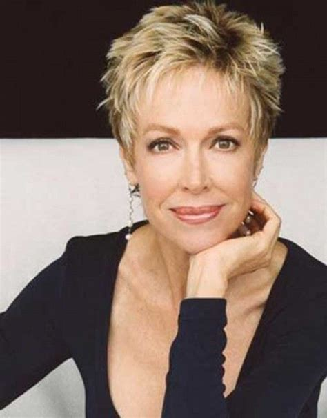messy haircuts for women over 50 chic pixie haircuts for women over 50 messy short blonde