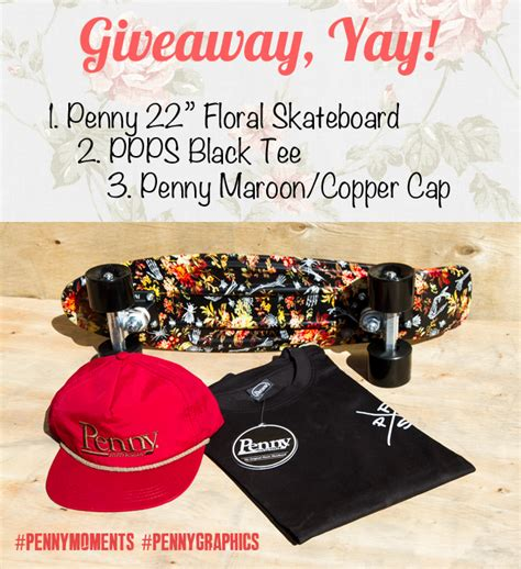 Penny Board Giveaway - win a skateboard from penny skateboards pommie travels