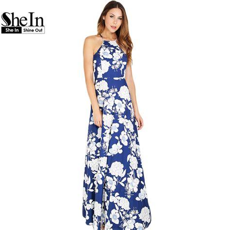 Maxi Dress New Afida aliexpress buy shein womens summer maxi dresses new arrival boho dress sleeveless
