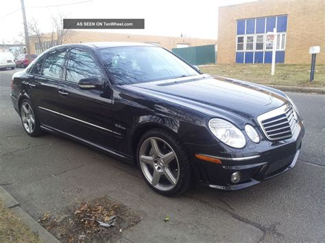 2007 Mercedes E63 by 2007 Mercedes E63 Amg Base Sedan 4 Door 6 3l