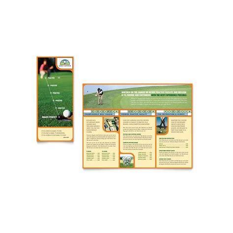 microsoft publisher brochure golf template options