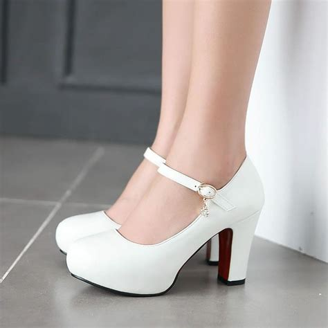 white high heels cheap cheap shoes for office buy quality white high heel shoes