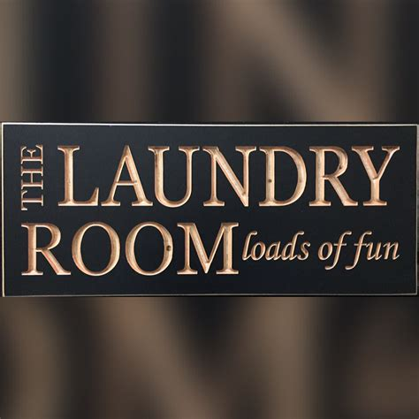 Wooden Laundry Room Signs by Hs Laundry Room Loads Of Wood Sign S Coop