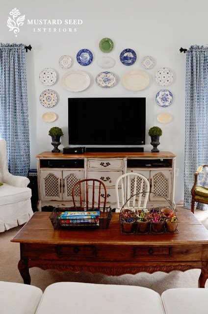 tips  decorating  area   tv
