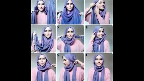 tutorial make up yg simple shawl tutorial hijab 2015 cara memakai jilbab cantik yg