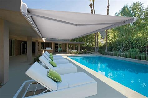 awnings pictures luxaflex australia new awnings add european flair to