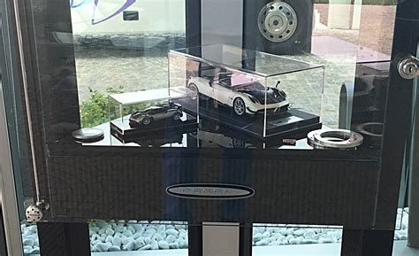 pagani huayra bc in 1 18 and 1 43 scale pagani museum