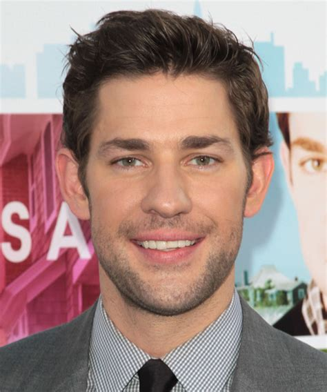 John Krasinski Haircut | john krasinski short straight casual hairstyle medium