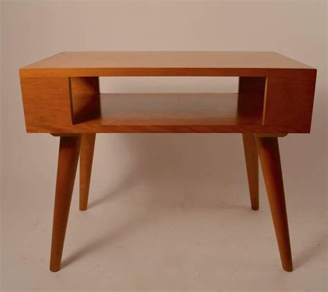 Conant Furniture by Pair Of Russel Wright For Conant End Tables At 1stdibs