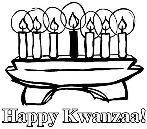 coloring pages for kwanzaa candle holder 10 beautiful kwanzaa candle pictures