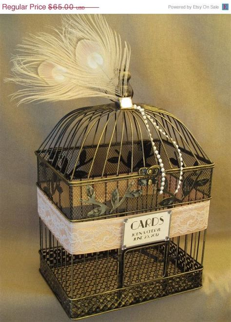 on sale birdcage wedding card box holder vintage style