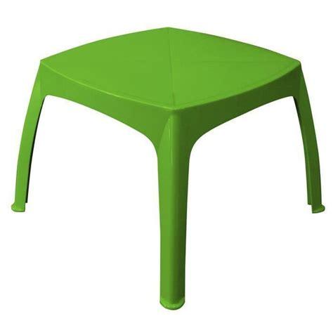 table de jardin enfant pistache achat vente table de