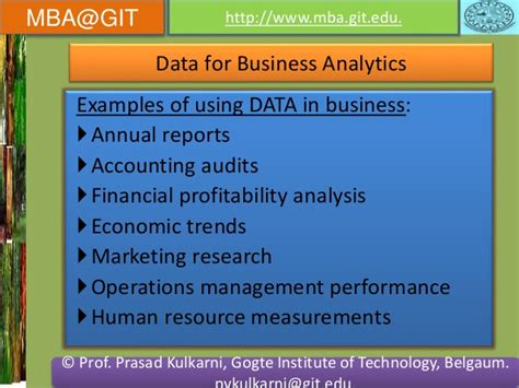 Mba In Business Analytics Scope by Business Analytics Module 5 14mba14 According To New Vtu