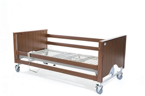 encore walnut hospital bed adjustable beds shelden