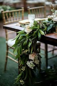 greenery table runner 25 chic table runners to try happywedd