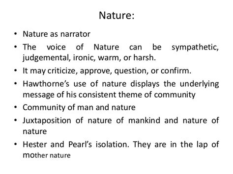 theme of alienation in the scarlet letter the scarlet letter by nathaniel hawthorne
