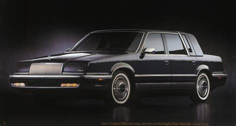 92 Chrysler New Yorker by Curbside Classic 1992 Chrysler Fifth Avenue The End Of