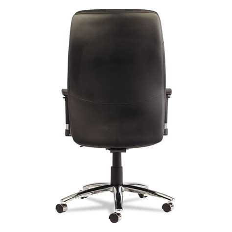 Lc Leather Black Series alera lc leather series self adjusting chair by alera