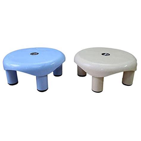 bathroom plastic stool 54 off on chetan bathroom stool blue brown on flipkart