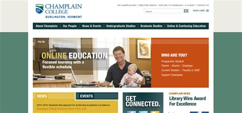 web design inspiration university 20 college university websites for design inspiration