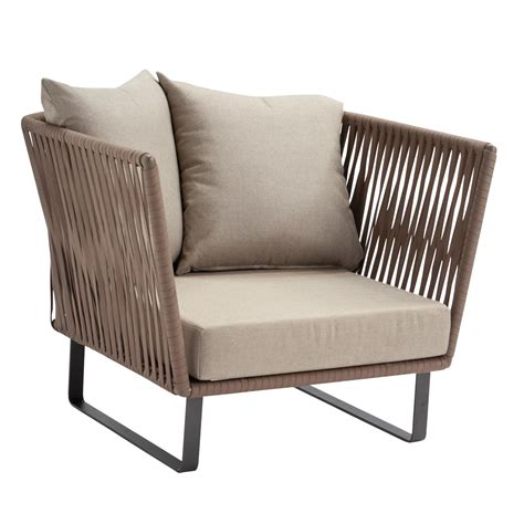 armchair lounge bitta club armchair garden chair kettal