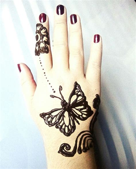 butterfly henna tattoos henna butterfly www pixshark images galleries with