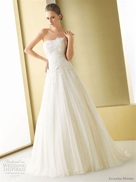 wedding dresses 2011 elianna wedding dresses 2011 wedding inspirasi