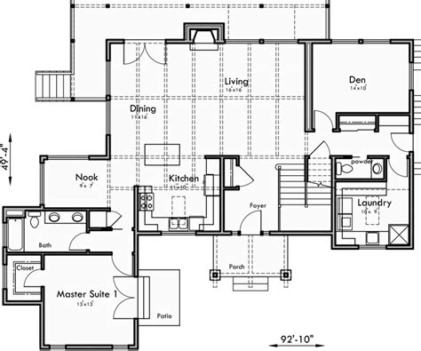 master on main house plans custom house plans 2 story house plans master on main