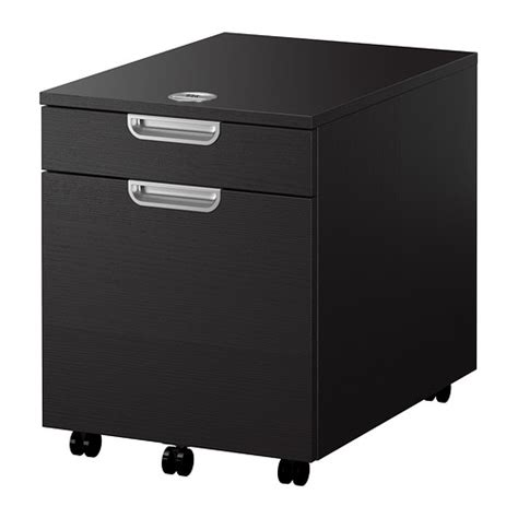 ikea file storage galant drawer unit drop file storage black brown ikea
