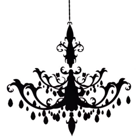 free chandelier clip resize chandelier decal free images at clker