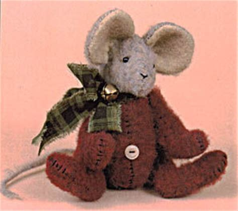 pattern for christmas mice christmas mouse felt sewing pattern