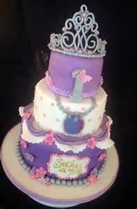 3 tier sophia birthday cake cakes disney princess birthday cakes