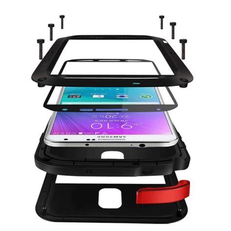 Mei Galaxy Note 4 funda mei de metal resistente para galaxy note 4