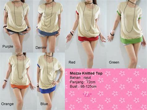 Top Rajut 103 Lala Shop Mozza Knitted Top